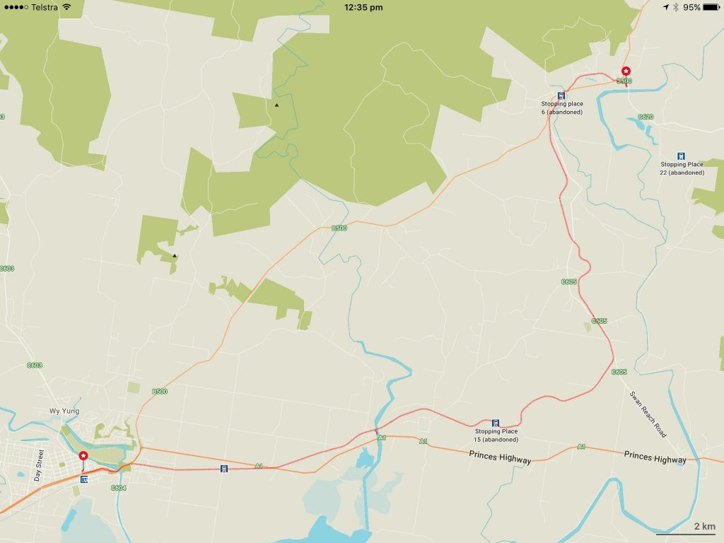 MacKillop-Woods Way Bairnsdale to Bruthen